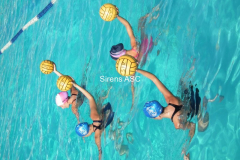 2011 women\'s waterpolo training