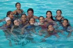 Synchronized swim training 03.09.2011